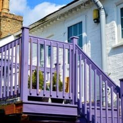 Mobile Home Outdoor Handrails